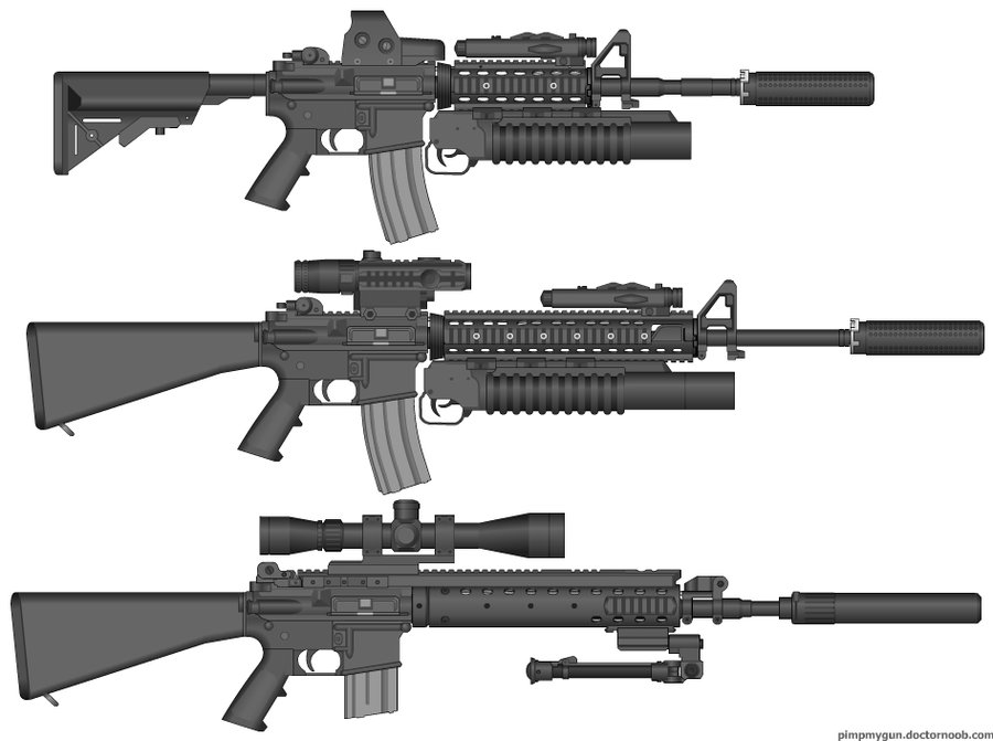 m16_sopmod_family_by_thumpergunner-d36hslf